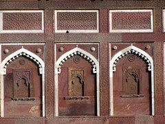 Agra575_AgraFort_Walls