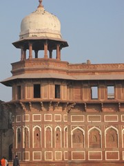 Agra576_AgraFort_Walls