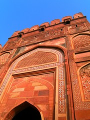 Agra591_AgraFort_Walls