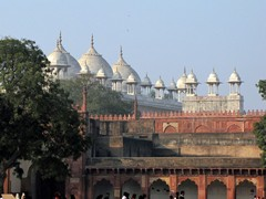 Agra716_AgraFort_Rooftops