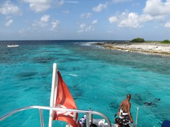 KleinBonaireBoatride - Honeymoon DivingBonaire - Dec'10