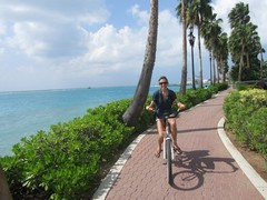 RenaissanceSuites - Honeymoon BikingAruba - Dec'10