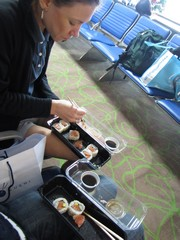 AirportSushi - Honeymoon Traveling - Dec'10