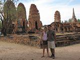 Ayutthaya305_WatMahathat_Prangs
