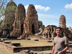 Ayutthaya300_WatMahathat_Prangs