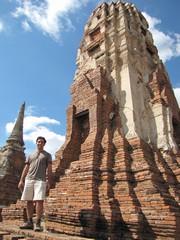 Ayutthaya394_WatMahathat_Prangs