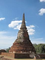 Ayutthaya395_WatMahathat_Prangs