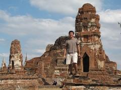 Ayutthaya411_WatMahathat_Prangs