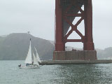 goldengate: sailboat