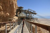 Israel0906_Masada_Descent