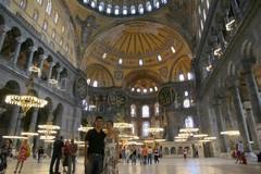 Turkey0044_Istanbul_HagiaSophiaDownstairs