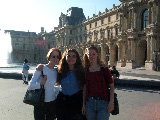 The girls at the Louvre