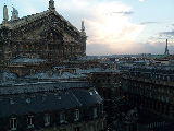 From the roof of the Galeries Lafayette, l'Opera
