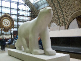 A bear in the Musee Dorsay