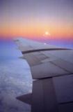 On the plane to San Juan