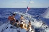 Sailing to Saint Bartholomee