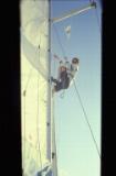 Climbing the sail (1)