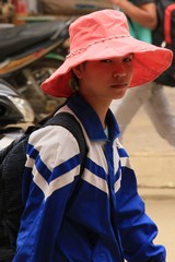 Vietnam0302_BacHa_MainStreet