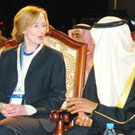 MIT President Susan Hockfield at Masdar Institute event in Abu Dhabi