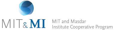 MIT and Masdar Institute Cooperative Program