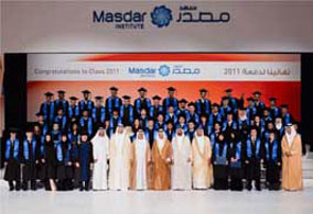Masdar Institute graduation 2011