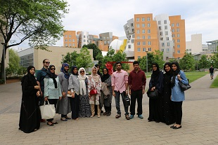 Masdar Institute Students at MIT