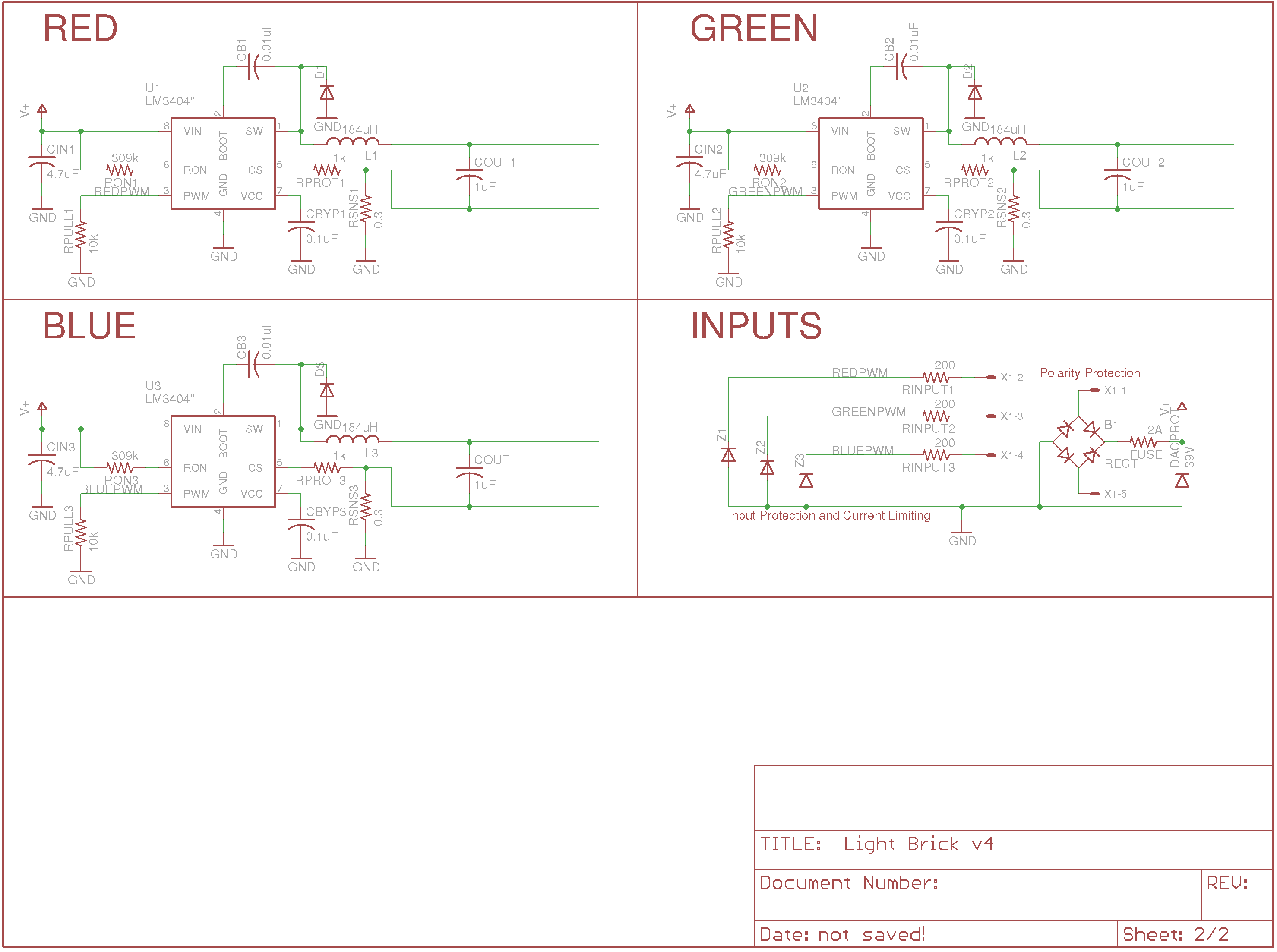 Ultraluminous Led Fixtures And Art Projects Design Schematics Input Protections