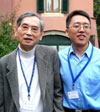 Researchers Sow-Hsin Chen and Yun Liu SM.