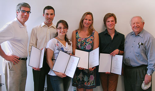 2013 Heller Recipients