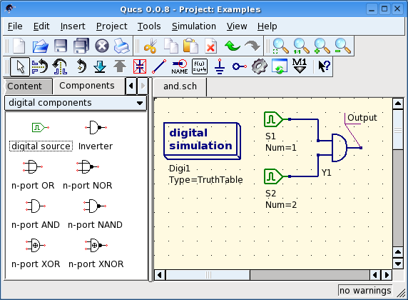 Qucs - Getting Started Digital