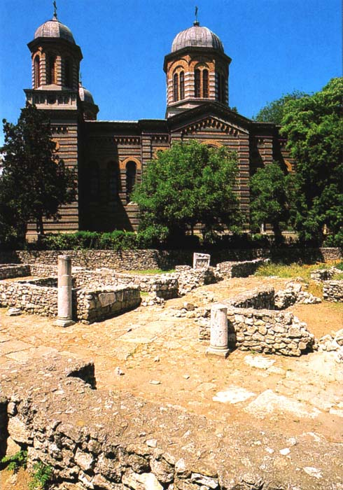 Constanta - Cathedral and Ruins