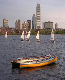Boats on the Charles River