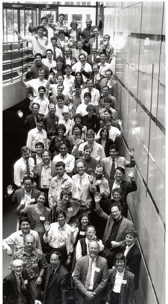 Media Lab Atrium, 20-Year Sharp Lab