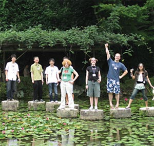 MIT-Japan interns in Kyoto