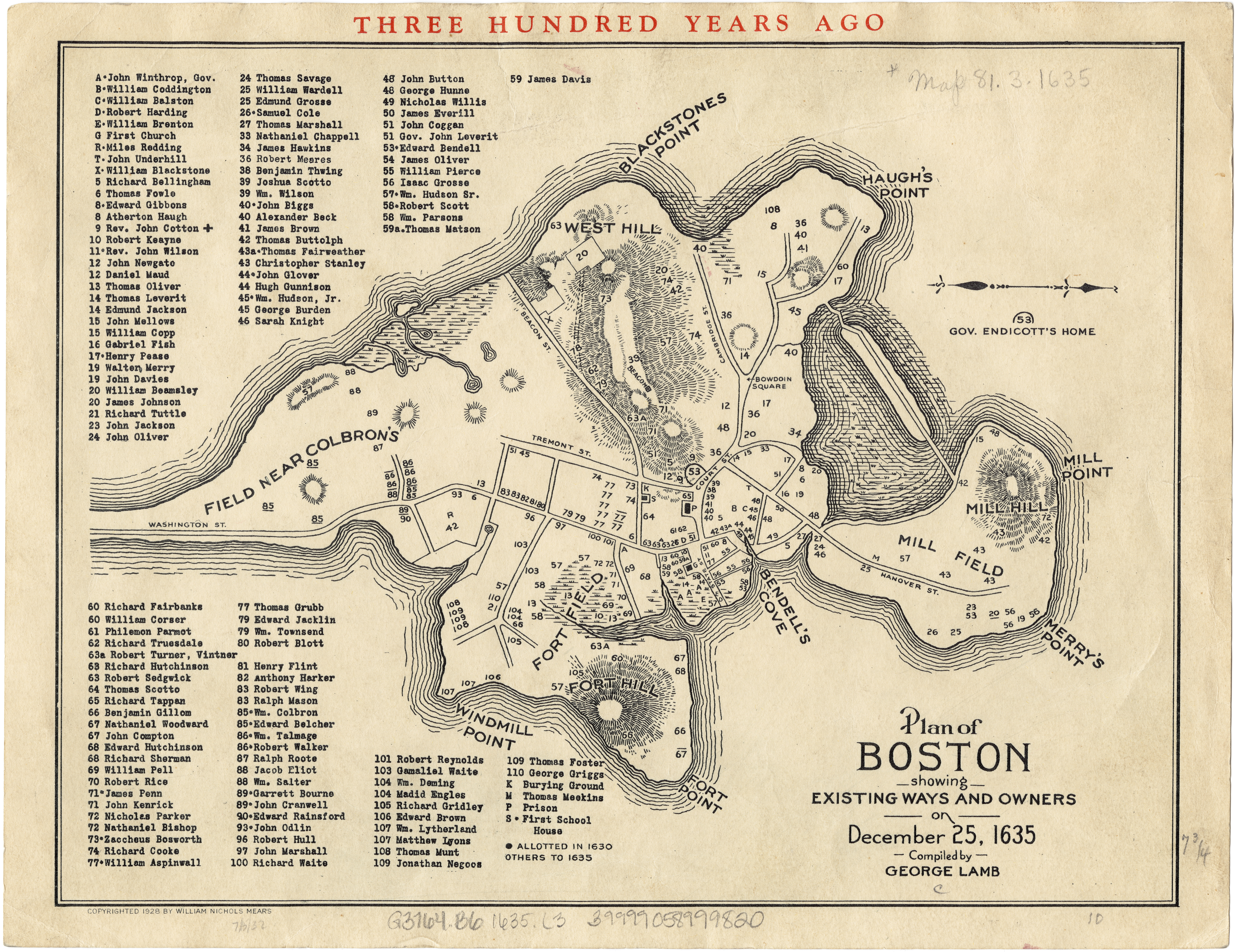 map of colonial boston My Site Through Time Once And Future City map of colonial boston