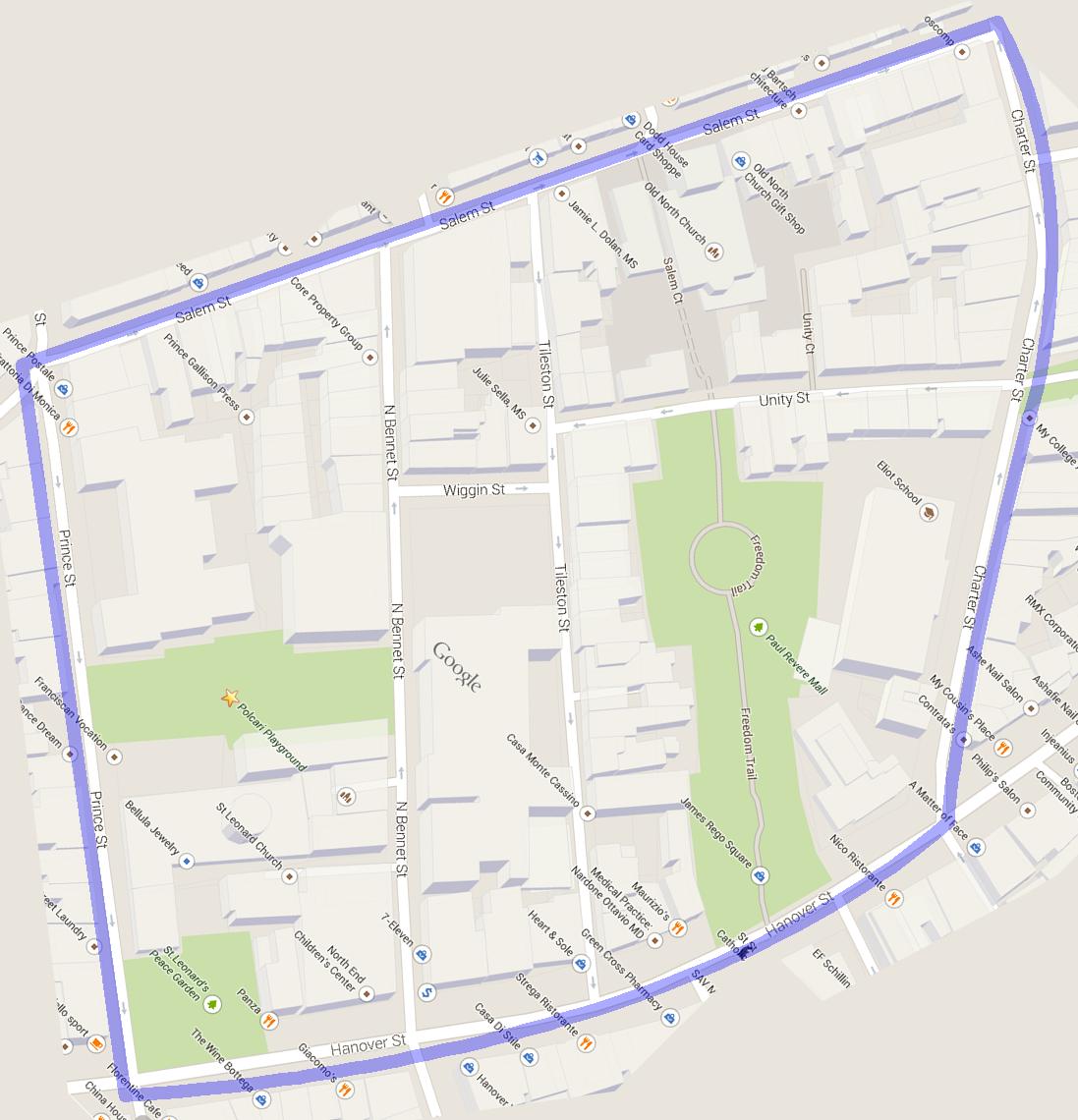 present google map