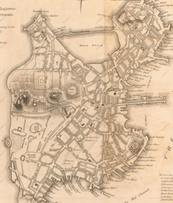 Back Bay: A Historical Narrative Through Map Observations
