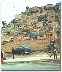 Photo Bogota Hill Side