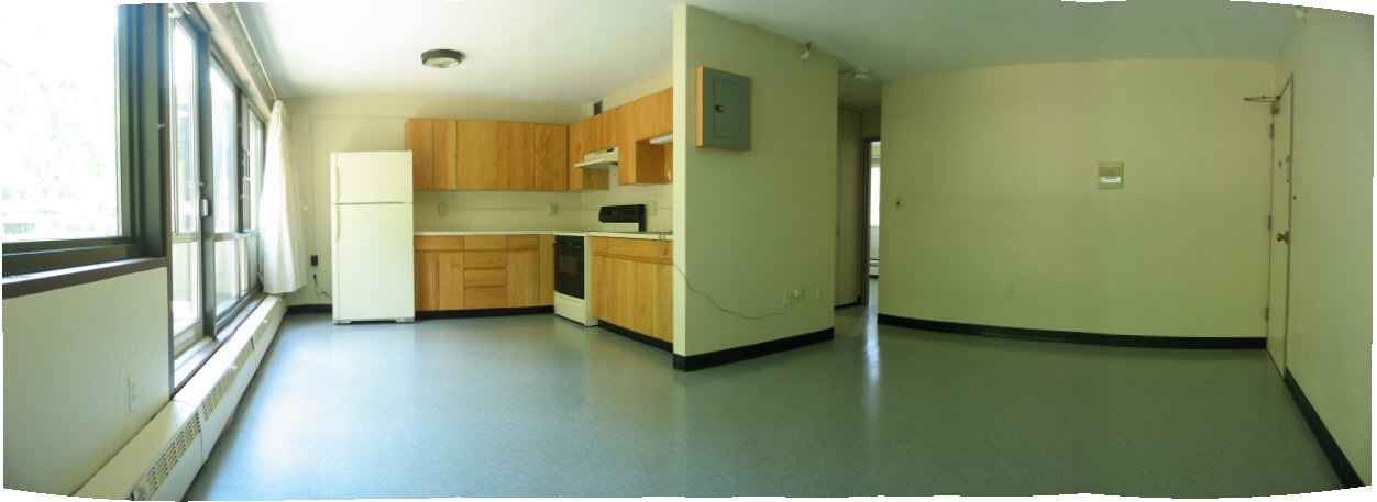 Westgate family housing community for Amherst family room