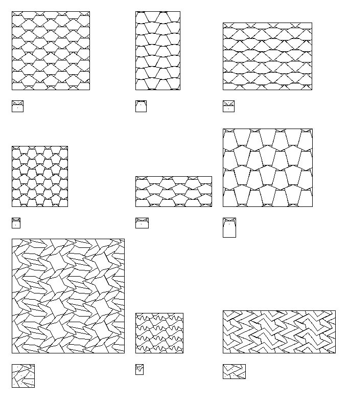 Shape Grammars of Ice-ray Chinese Lattice Designs : haldane liew