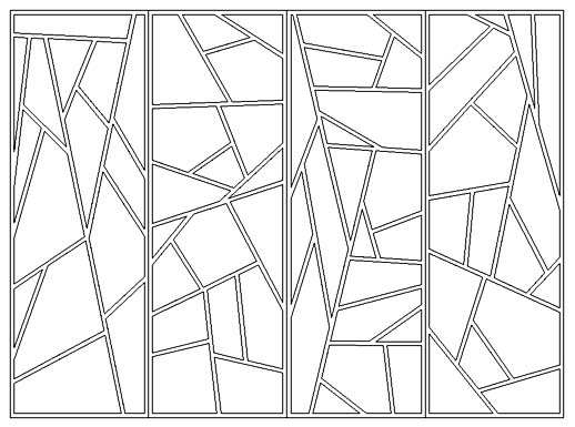 shape grammars of iceray chinese lattice designs