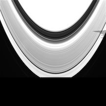 Image of Saturn from the Cassini mission