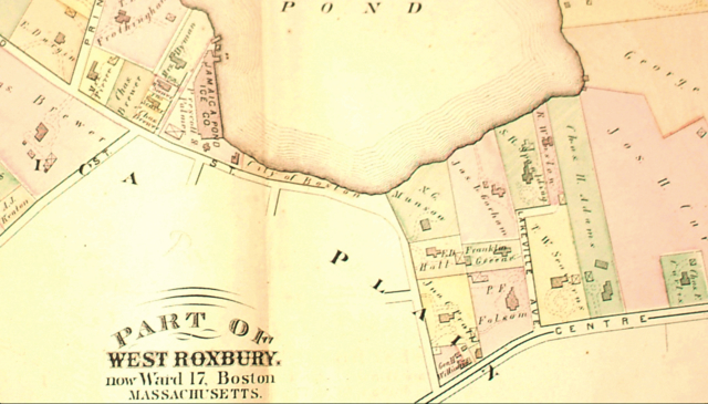 Jamaica Plain Boston Map.Example Title Once And Future City