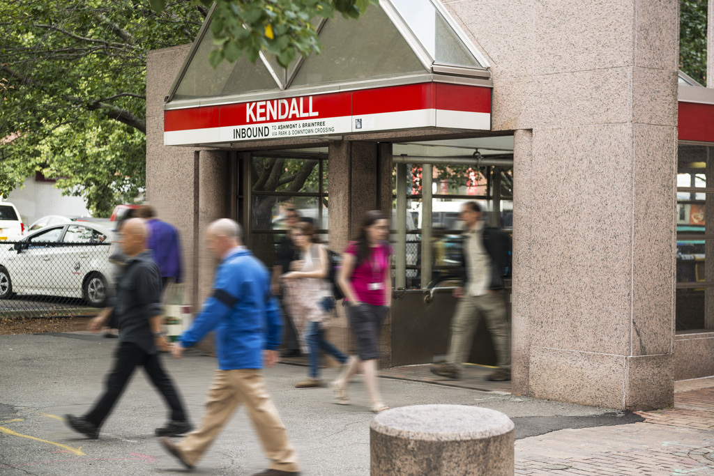 The Kendall/MIT subway station is the closest stop to campus.