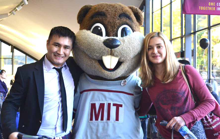 Tim the Beaver is MIT's mascot.
