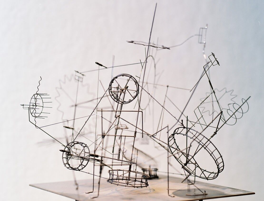 See one of Arthur Ganson's mesmerizing kinetic sculptures at the MIT Museum.