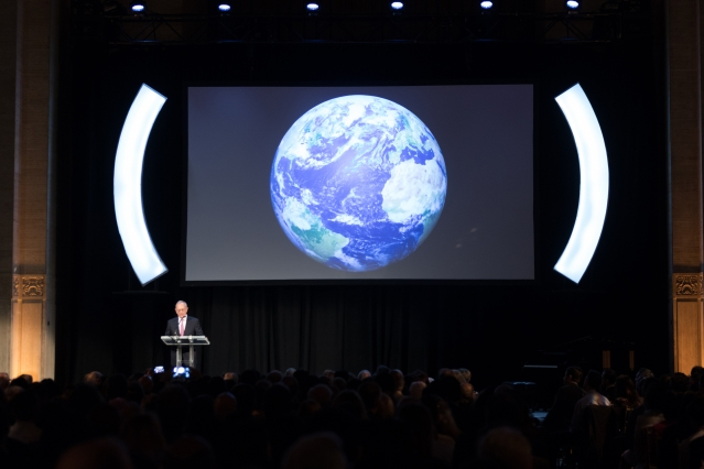 Hundreds join President Reif in NYC to celebrate MIT's community and mission