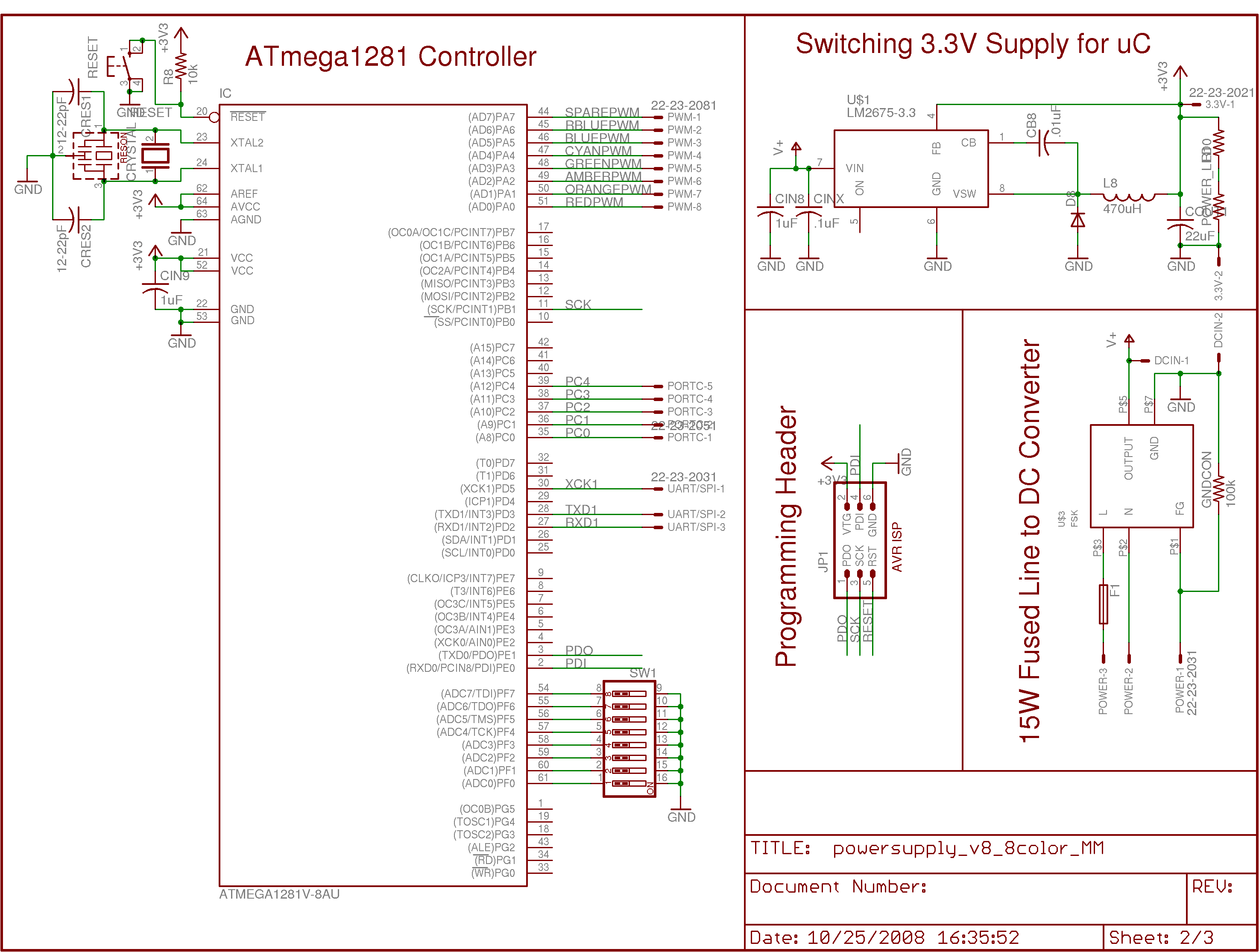 Ultraluminous Led Fixtures And Art Projects Power Supply Schematic This Is The Current Version Of Board