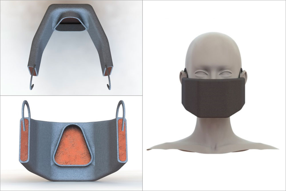 heated face mask, MIT
