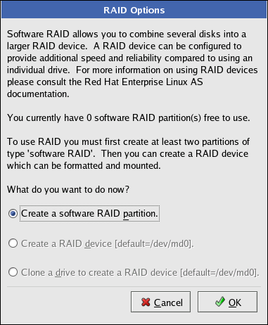 4 5  Configuring Software RAID